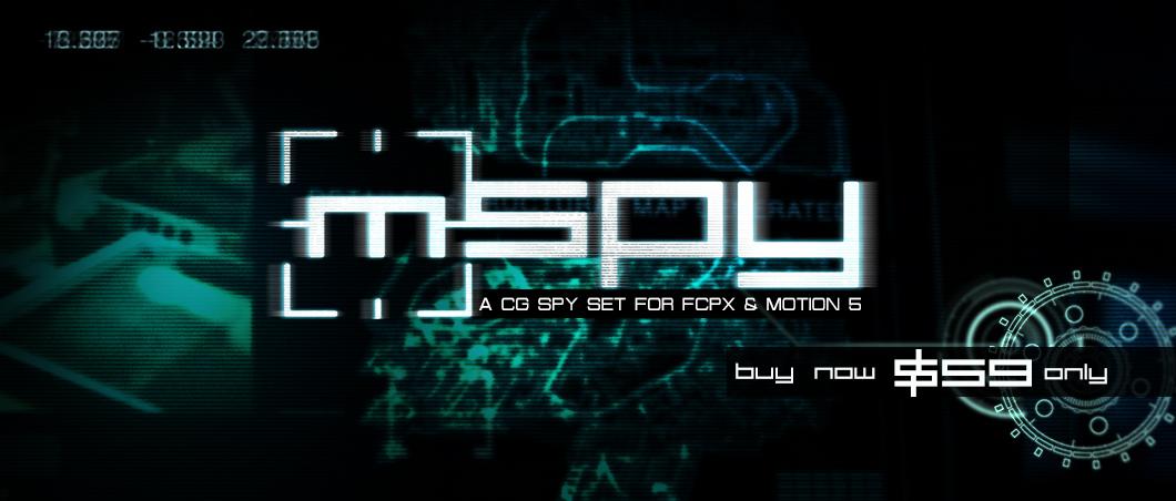 MotionVFX - mSpy - làm phim khoa học viễn tưởng